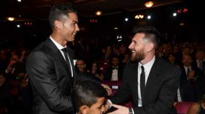 Begini Raut Ronaldo Usai Messi Dapat Gelar Best Forward UEFA Player
