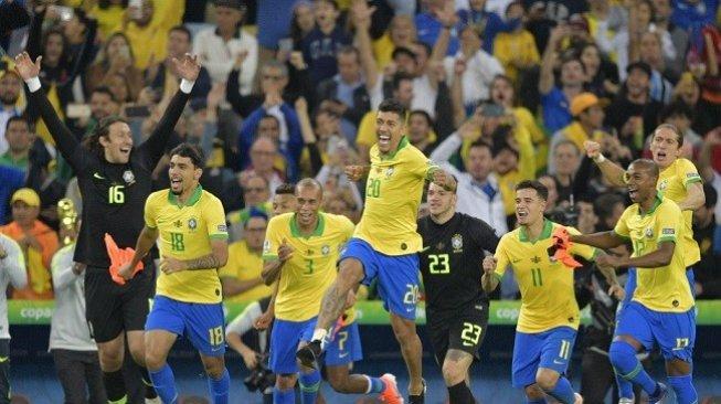 Rangking FIFA: Brasil Naik ke Posisi Dua, Indonesia Masih Stagnan