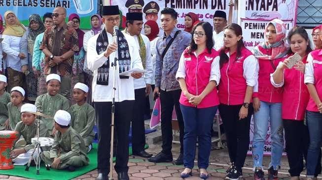 Anies Anggap Hibah Rp40,2 M untuk Guru Paud soal Keberpihakan
