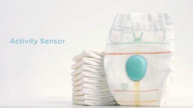 Popok Pintar Ini Punya Sensor untuk Mendeteksi Aktivitas Bayi