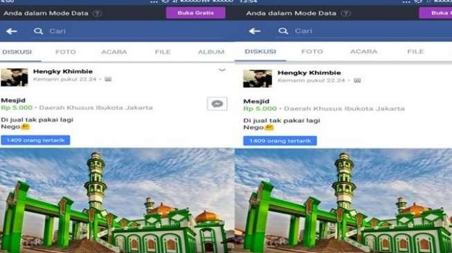 Bikin Resah, Polisi Usut Akun FB yang Jual Masjid Raya Singkawang
