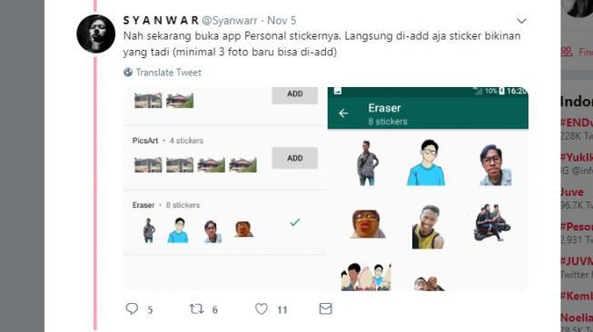 Cara Buat Sticker WhatsApp Sendiri