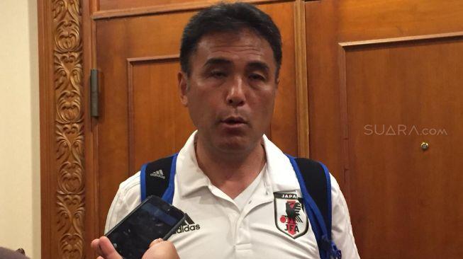 Duh! Pelatih Jepang U-19 Tuding Suporter Indonesia Panggil Hujan