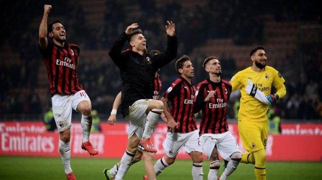 Ini Doa Fans Indonesia untuk AC Milan Usai Unggah Ucapan Idul Fitri