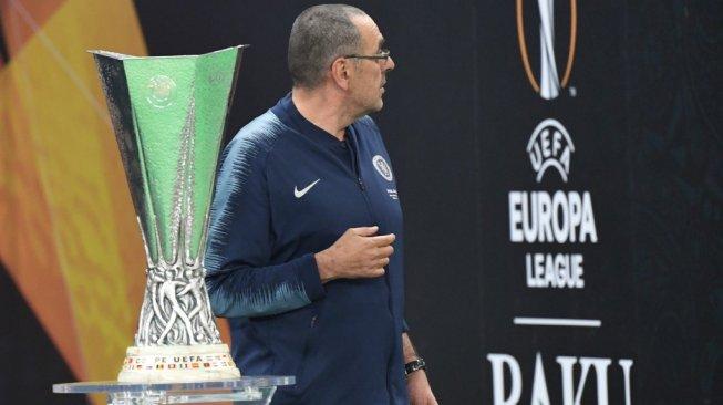 Bawa Chelsea Juara Liga Europa, Sarri: Gelar Ini untuk Fans Napoli