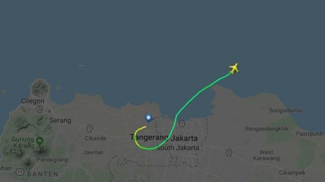 Beberapa Jam Sebelum Jatuh Lion Air JT 610 Terbang Tak Beraturan