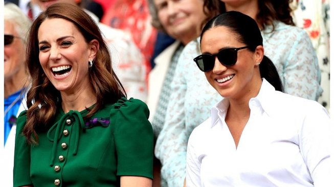 Duh, Meghan Markle Tertekan Jadi Ipar Kate Middleton
