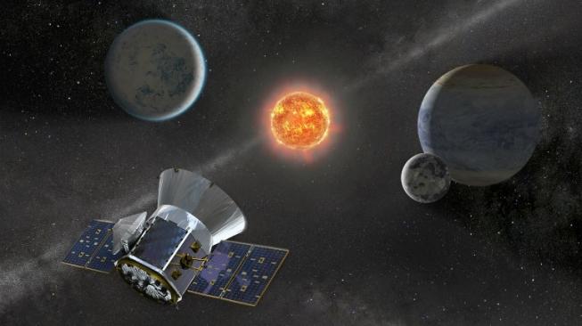 Hari Ini AS Luncurkan Satelit Pemburu Alien ke Antariksa