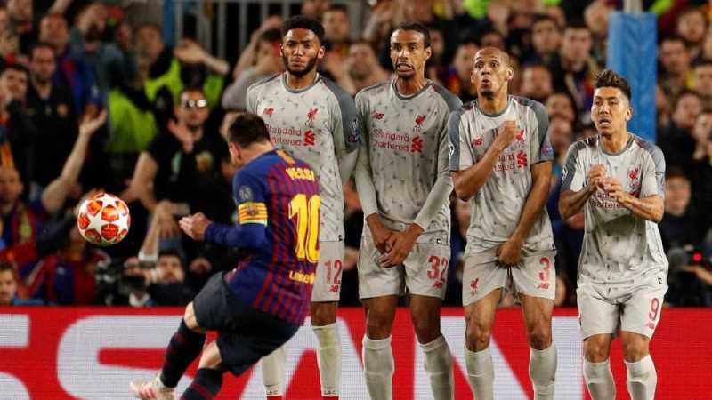 Kalahkan Ronaldo, Messi Raih Penghargaan Gol Terbaik UEFA