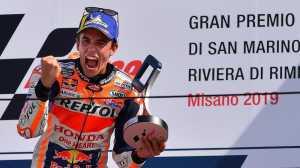 Tentang Raut Wajah Marquez di MotoGP San Marino