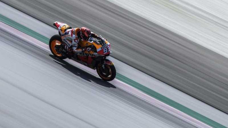 Marquez Tercepat di FP3 MotoGP Qatar 2019