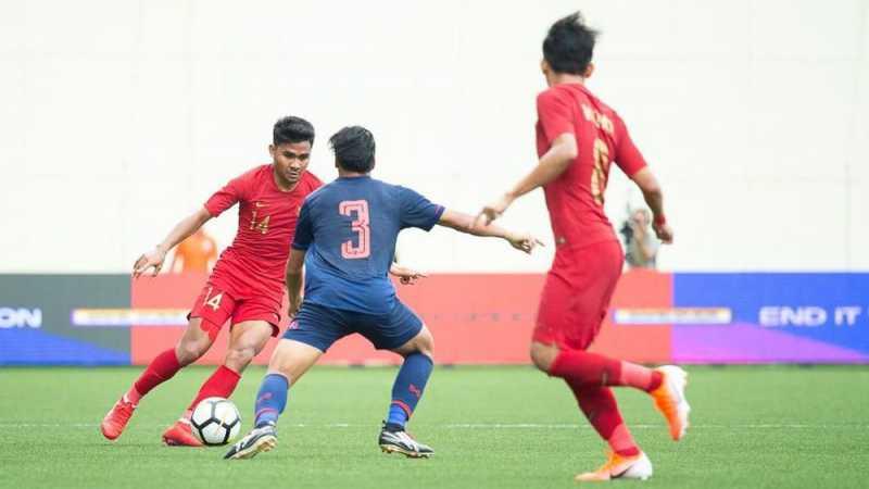 Timnas U-23 Kalah dari Thailand