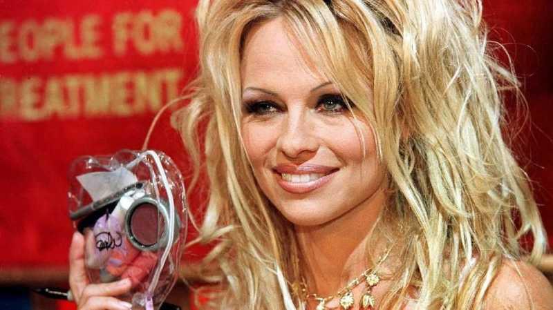 Bela Hak Binatang, Pamela Anderson Jadi Aktivis di Paris