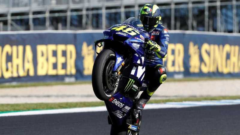 Rossi Tegaskan Masih Mengincar Gelar ke-10