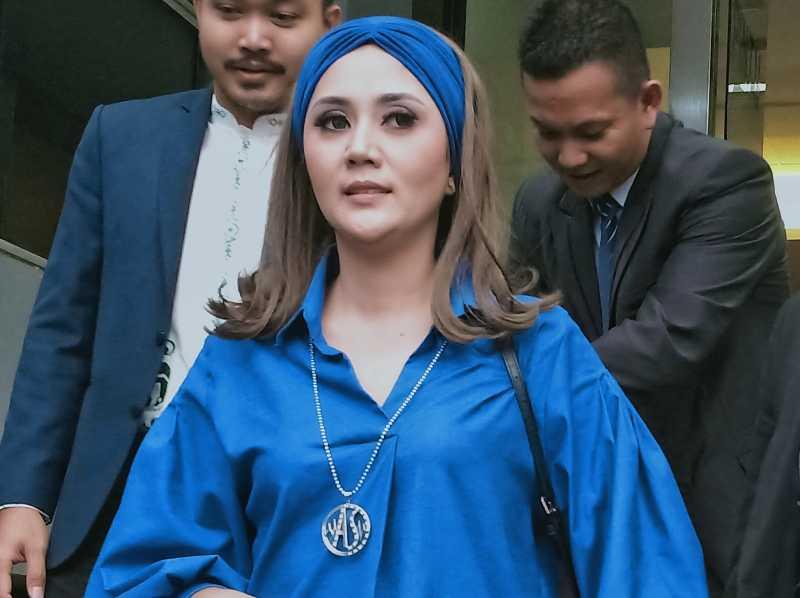 Sakit Hati Difitnah dan Dihina, Aida Saskia Lapor Polisi