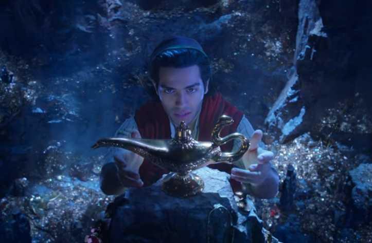 Cuplikan Trailer Aladdin Rilis, Tak Tampak Will Smith Sebagai Sosok Jin