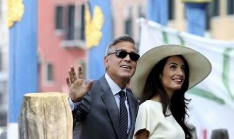 Istri George Clooney Dinilai Layak Masuk Parlemen Inggris