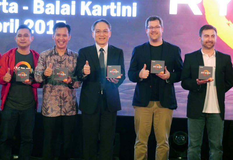 AMD Ryzen 5 Resmi Hadir di Indonesia