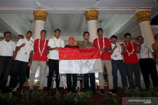 Prestasi Timnas U-22 dorong Khofifah Bangun 'Sport Center'