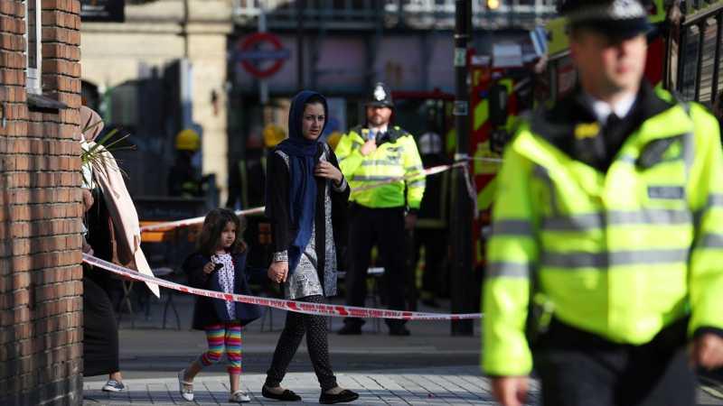 Ledakan Terjadi di Stasiun Kereta London