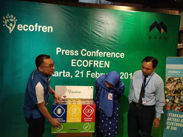 Kurangi Dampak Limbah Elektronik, PT Arah Kenalkan Ecofren