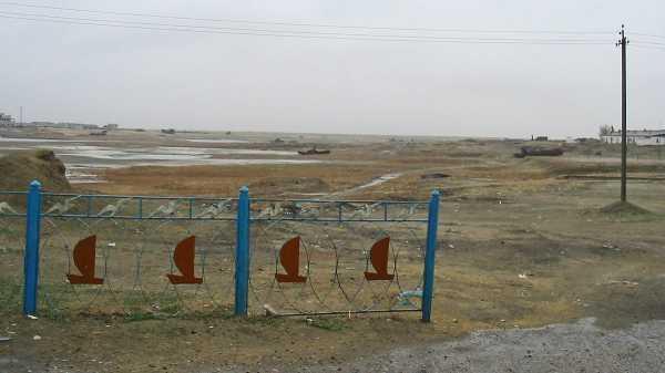 Vozrozhdeniya, Pulau Anthrax di Rusia