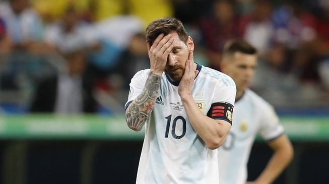 Buruknya Penampilan Timnas Argentina Bukan Salah Lionel Messi