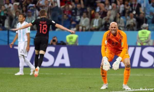Argentina vs Kroasia, Blunder Kiper dan Kocar-kacirnya Penerus Maradona