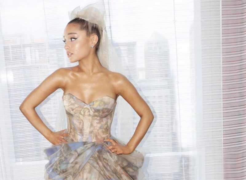 Ariana Grande Punya Tatoi Baru, Terinspirasi Tokoh Anime