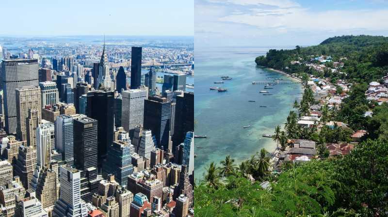 Manhattan di New York Pernah Ditukar dengan Pulau di Maluku