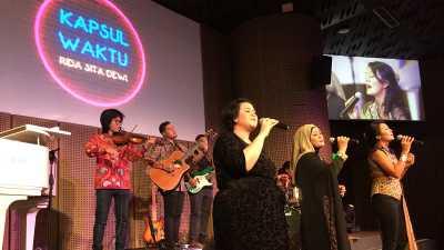 Bernostalgia Lewat Kapsul Waktu Bersama Rida Sita Dewi