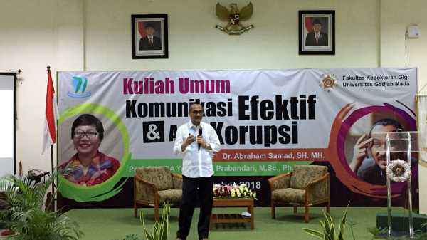 Abraham Samad: Mahasiswa Titip Absen Itu Korupsi