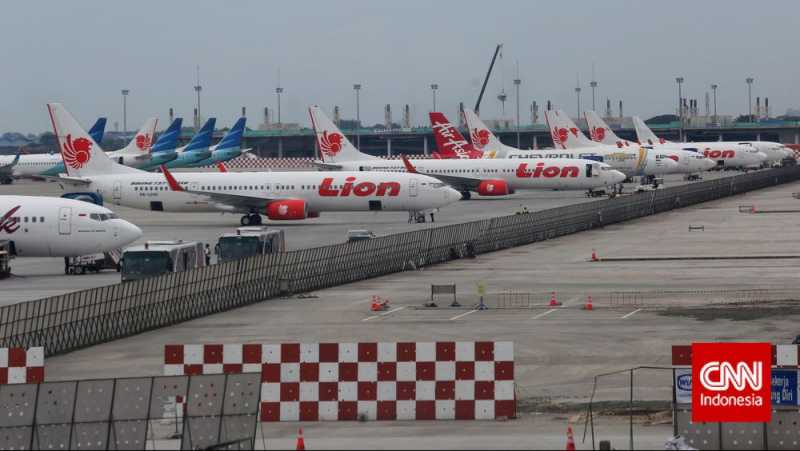 Pesawat Lion Air Tergelincir di Gorontalo