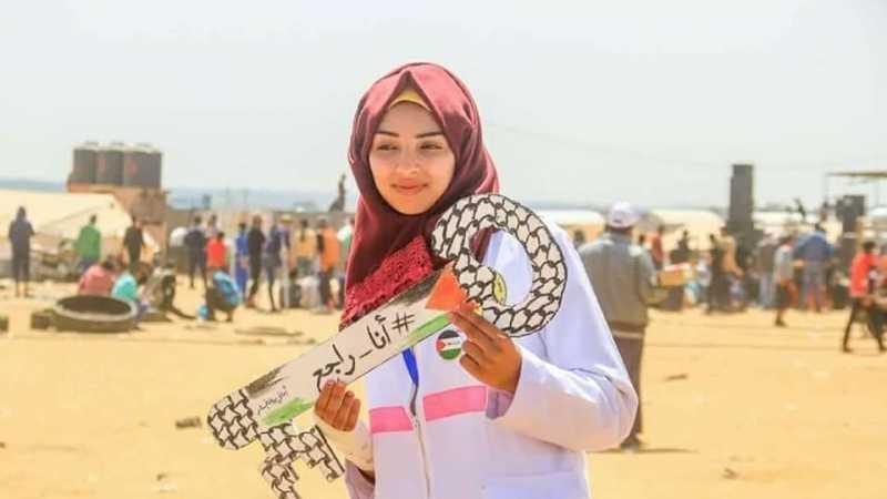 Duka Palestina Ditinggal Razan al-Najjar, Perawat yang Ditembak Israel