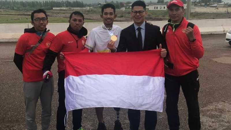 Muhammad Fadli Raih Emas di Kejuaraan Asia Road Cycling 2019
