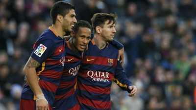 Neymar Kembali Trio MSN Reuni