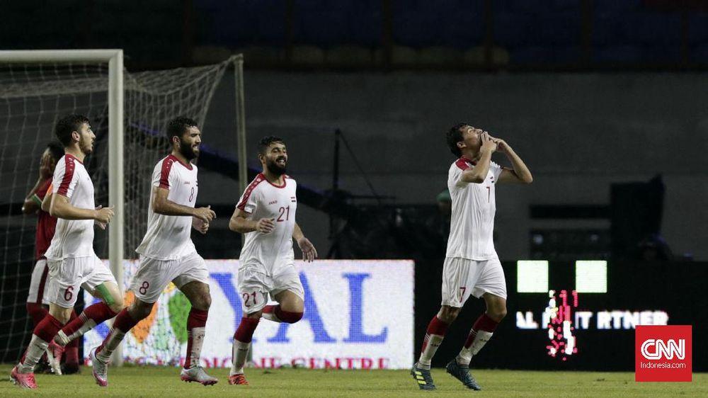 Pelatih Suriah: Alhamdullilah Kami Raih Hasil Terbaik