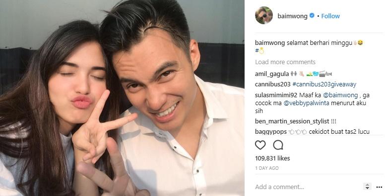 Baim Wong tentang Vebby Palwinta: Saya Yakin Dia yang Terakhir