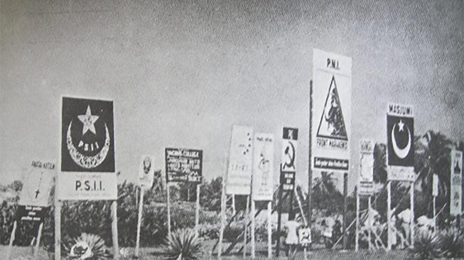 Sejarah Hari Coblosan Pemilu 1955: Barat Relatif Aman, Timur Rawan