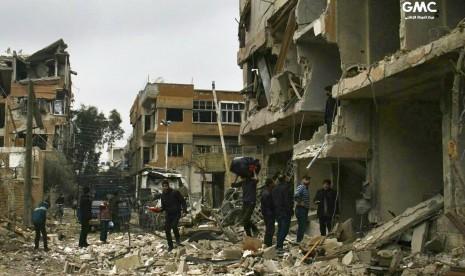 Ghouta, Neraka Baru di Bumi Suriah