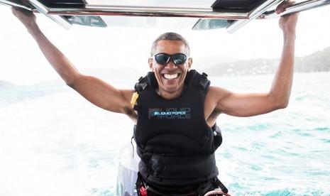 Barack Obama Memulai Liburannya di Bali