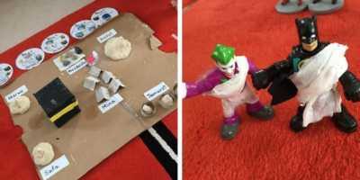 Batman dan Joker Pakai Ihram, Miniatur Haji Bocah Ini Viral