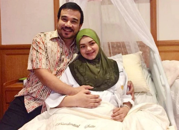 Sempat Disembunyikan, Siti Nurhaliza Akhirnya Ungkap Wajah dan Nama Anaknya