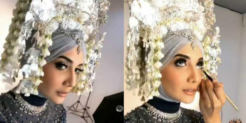 Berdandan ala Pengantin Minang, Zaskia Sungkar Malah Dikritik