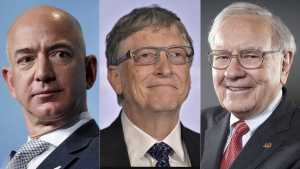 "3 Pria Ini Masih ""Kuasai"" Dunia, Siapa Paling Tajir?"