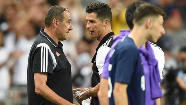 Ronaldo Cekcok dengan Sarri di Juventus vs Tottenham