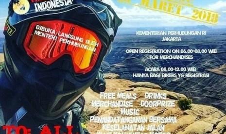 Stephen Langitan Tempuh Jakarta-London dengan Sepeda Motor