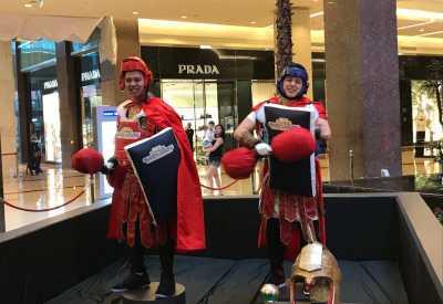 Sambut Thor: Ragnarok, Billy Davidson - Chandra Liow Bertarung Ala Gladiator