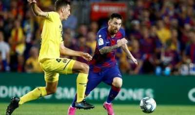 Messi Pulih dari Cedera, Barcelona Kalahkan Villarreal 2-1
