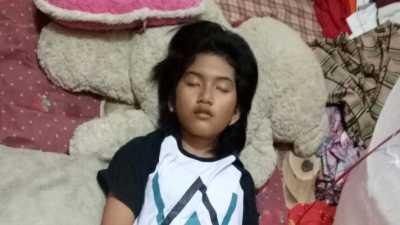 Selama Tidur Panjang, Echa si Putri Tidur Tetap Makan dan Mandi